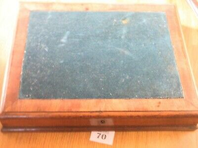 Antique Wooden Writing Slope Box