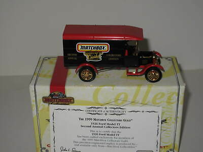 """Matchbox Yesteryear 1926 Ford Model Tt """"1999 Collector's Guild"""" # Yym38030"""