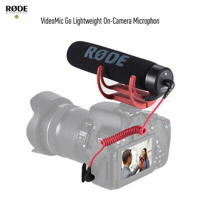 RODE VideoMic Go Directional Microphone for Canon Nikon Sony DSLR DV Camcorder