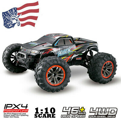 Large Size 1:10 Scale High Speed 46km/h 4WD 2.4Ghz Remote Control Truck 9125 USA