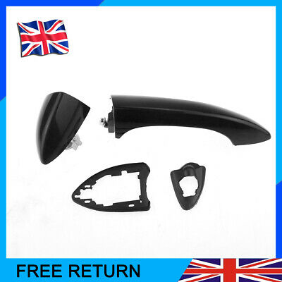 For BMW E53 X5 00-06 Bright  Black Front Right RHS O/S Drivers Outer Door Handle