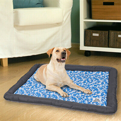 Self Cooling Gel Mat Dog Cat Pet Heat Relief Non-toxic Summer Cool Bed Non-Slip