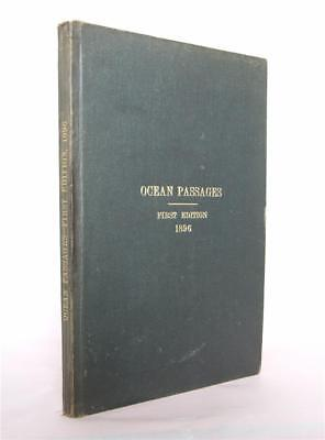 Ocean Passages for the World, 1895 1st ed. Steam & Sail Navigation