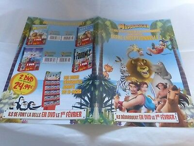 DREAMWORKS - Plan média / Press kit !!! MADAGASCAR !!!