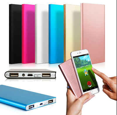 20000mAh Ultra Thin Portable External Battery Charger Power Bank for Cell Phone