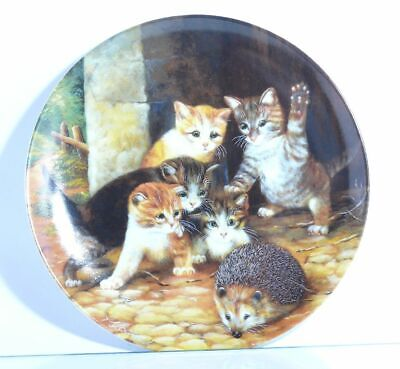 Collection Plate Seltmann Weiden Cat Friend or Feind? - Certificate Boxed