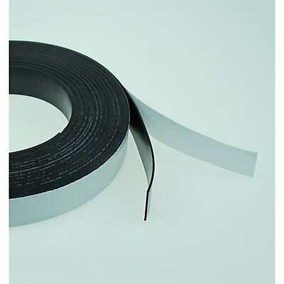 Self Adhesive Magnetic Tape Roll 10 and 20mm widths - 10M Reel