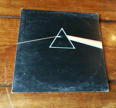 Pink Floyd Dark Side Of The Moon Vinyl LP With Original Poster And Sticker