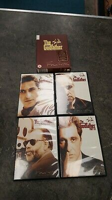 The Godfather The Coppola Restoration DVD New 5 Disc Collection