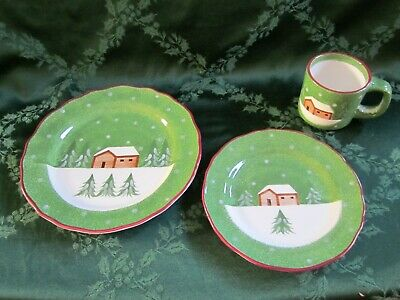 The Cellar Log Cabin Dinnerware CHOICE