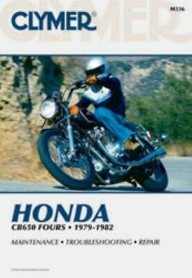 Clymer Workshop Manual  Honda CB650 CB650C CX650SC 1979-1982 Service Repair
