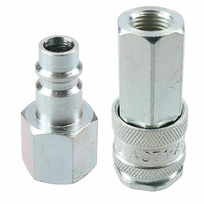 "PCL XF Series Female Coupler 1/4"" BSP Female Thread & Male Fitting Air Adaptor"