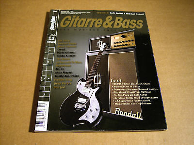 Gitarre & Bass - Nr 12 - 2009 - Joe Perry Dweezil Zappa