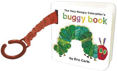 Rainbow Designs THE VERY HUNGRY CATERPILLAR BUGGY BOOK Toddler Early Reading BN