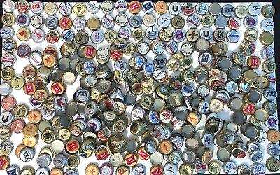 360+ Silver & Gold used beer bottle caps for arts & crafts/cap collectors