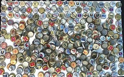 360 plus Silver & Gold used beer bottle caps for arts & crafts cap collectors