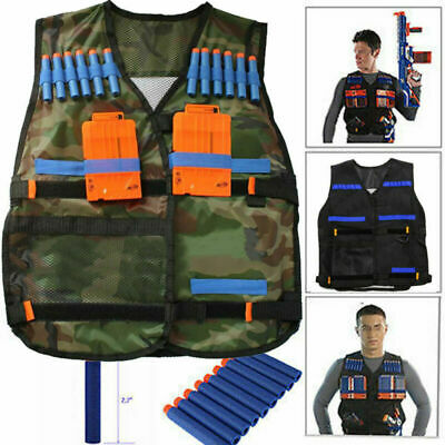 Kids Elite Tactical Vest Kit For Nerf Nstrike Elite Series NEU