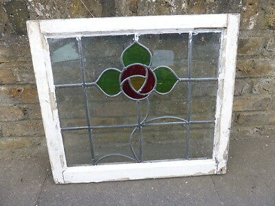 Antique Edwardian stained glass window (no 1)