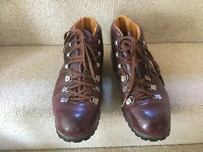 878200af56a VINTAGE HAWKINS HELVELLYN Brown Leather Walking Hiking Boots 5