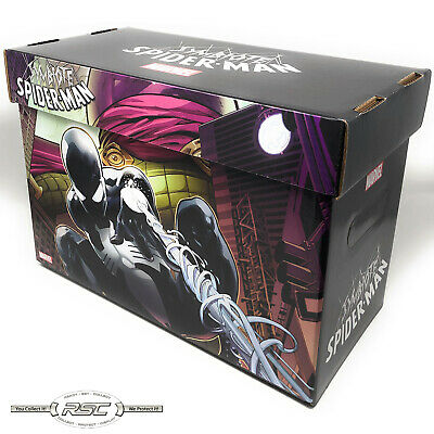 Spider-Man Symbiote Short Comic Box! Official Marvel Licensed - Case of 5 Boxes!