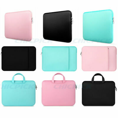 """11"""" 12"""" 13"""" 15"""" Notebook Laptop Bag Sleeve Cover Case For Macbook Mac Air Pro"""