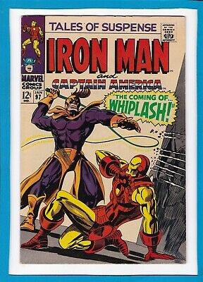 TALES OF SUSPENSE #97_JAN 1968_VF MINUS_1st APPEARANCE OF WHIPLASH_SILVER AGE!