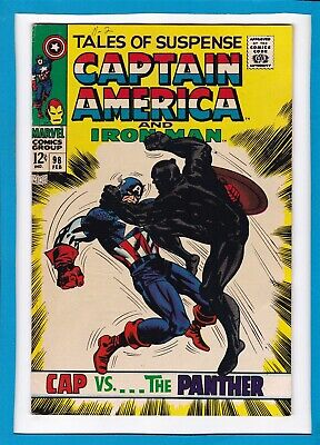 Tales Of Suspense #98_February 1968_Vg_Iron Man_Captain America_Black Panther!