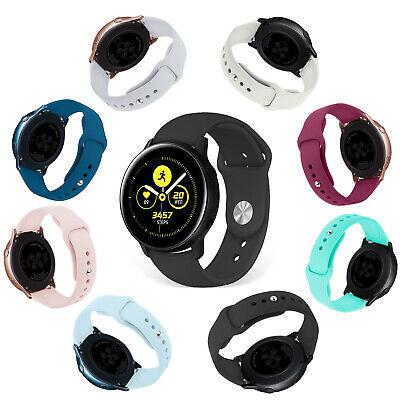 Classic Silicone Strap Bands Bracelet Replace For Samsung Galaxy Watch Active