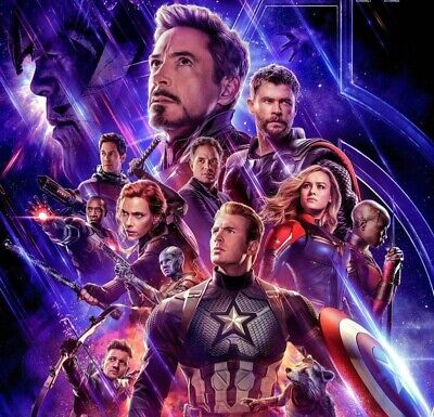avengers : endgame cinema ticket hull