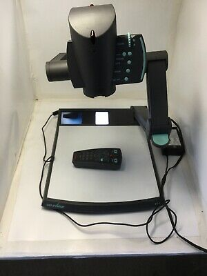WolfVision VZ-9 Document Camera Visualizer W/Cables and Power Supply *TESTED*