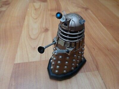"""3.75"""" Dr Doctor Who Electronic Moving Classic Gold Dalek Action Figure Bbc"""