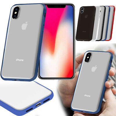 Ultra Thin Cover Shell Matte Back Bumper for iPhone XR XS MAX Protective Case
