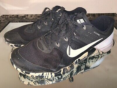 size 40 a9644 3b83e Nike Metcon 2 Men s Black White Camo CrossFit Training Shoes Size 11  819899-010