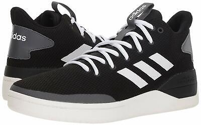 71f2b4834e4 Mens Adidas BBALL80S Basketball Shoes Sneakers Size 10 10.5 Black White  B44833