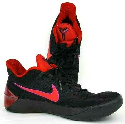 bff385f916a9 Kobe A.D Men s Snikers Black Red Sz 8 Flip The Switch Basketball 852425-004