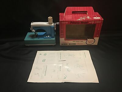 Vintage Frankonia Childs Sewing Machine Princess Royal Real Electric Battery