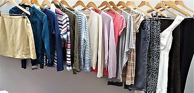 Wholesale Job Lot of Cream Clothing Womens & Mens mixed 5/10/15kg Bulk Buy  <W1