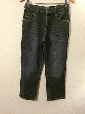 Indigo M&S Jeans Denim Trousers Regular Fit In Age 13 Years Adjustable <R4495