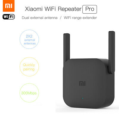 Xiaomi Pro 300Mbps Wireless Repeater Router WIFI Extender Signal Boosters I7E9