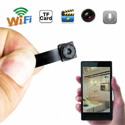 Mini Wireless IP Hidden Camera 1080P Full HD For Home Surveillance Camcorder UK