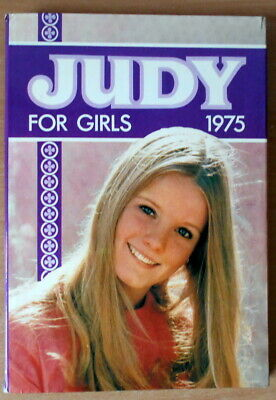 Judy for Girls 1975 Annual  Good Condition Book, vintage.