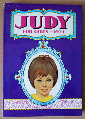 Judy for Girls 1974 Annual  Good Condition Book, vintage.