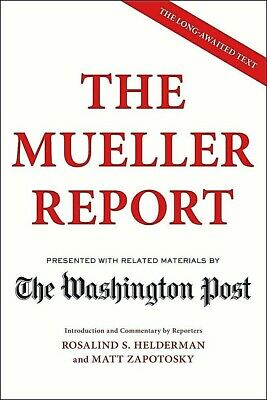 The Mueller Report by The Washington Post PAPERBACK 2019