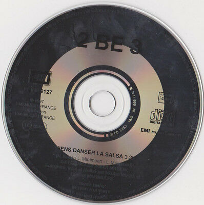 2 be 3	Viens Danser La Salsa PROMO 1-TRACK	CD SINGLE	SPCD 2127	1997	RARE