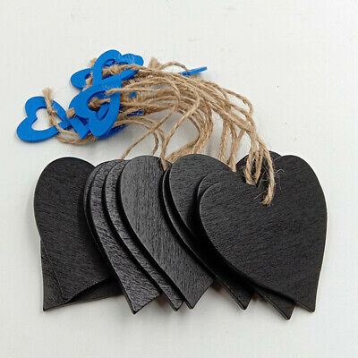 Hanging Memo Office Wedding Supplies Large Heart Shape Chalkboard Sign LC