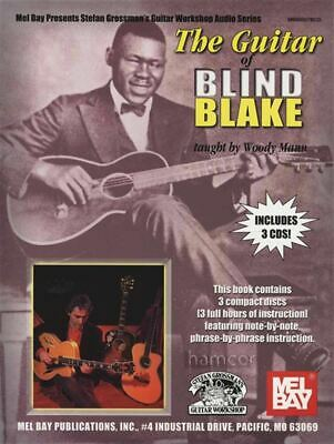 The Guitar of Blind Blake TAB Music Book with 3CDs by Woody Mann