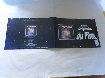 GEORGE LUCAS & JOHN WILLIAMS - Plan média / Press kit !!! STAR WARS - BOF !!!