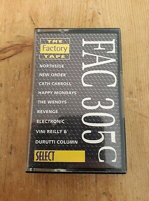 Select : FAC 305C : The Factory Tape - 1990 Tape Downtempo Indie Rock Synth-pop