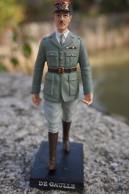 Re0167 Figurine Statuette Reproduction General Charles De  Gaulle