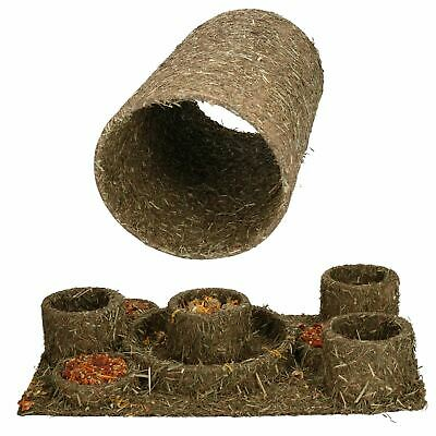Small Animal Treat Hamster Guinea Pig Naturals Hide 'n' Treat Maze & Tunnel